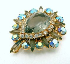 Vintage Juliana Pendant Brooch Delizza and by ALLUWANTISHERETODAY, $95.00