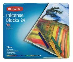 Derwent Inktense Block - Tin of 24
