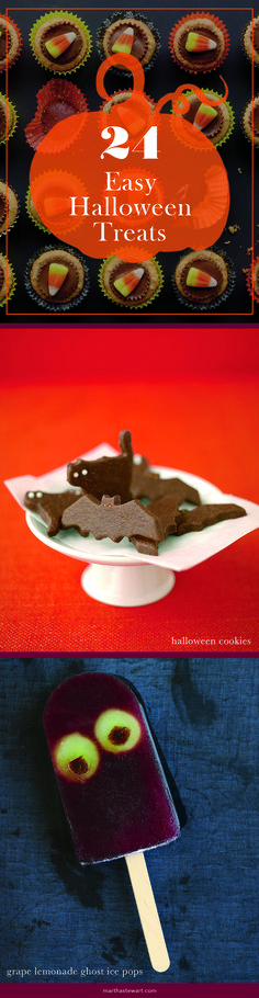 24 Easy Halloween Treats | Martha Stewart Living