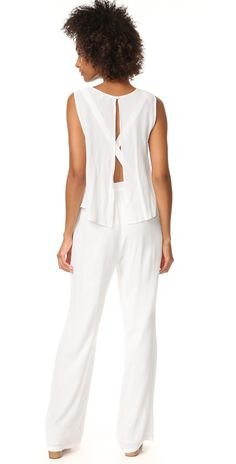 cupcakes and cashmere Goddess Tiered Top Jumpsuit | SHOPBOP SAVE UP TO 25% Use Code: GOBIG17