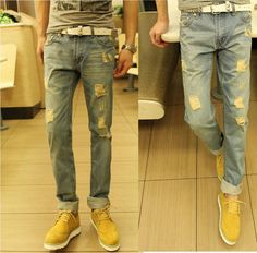 Fashion jeans NEW leisure casual Men's jeans hot brand denim Retro Style jeans,men easy pants,long jeans fast and free shipping