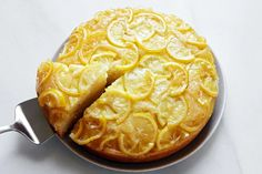 In this cake, the natural pectin in the citrus, combined with the sugar, creates a pudding-like upside-down layer that's similar to a buttery marmalade. Round Cake Pans, Round Cakes, Frozen Fruit, Fresh Fruit, Sugar Candy, Plain Greek Yogurt, Baking Recipes, Top Recipes, Dessert Recipes