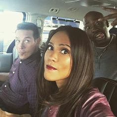 Bts with one of the funniest casts!