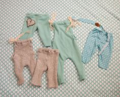 Upcycled Newborn Outfits