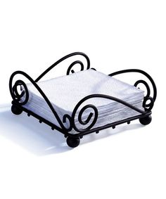 This Scroll Flat Napkin Holder is perfect! #zulilyfinds