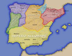 The first expansion of the kingdom of Portugal. Alfonso I, called the conqueror, left a kingdom with twice the size of the county he had received. In Portugal had already completed its Reconquista. Teaching Aids, Teaching Social Studies, Strategy Map, Portugal, Iberian Peninsula, Banner, Islamic World, Aragon, European History