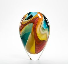 Beautiful Glass Pieces by Peter Layton