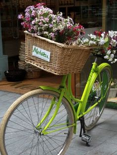 This is why bicycles have baskets!