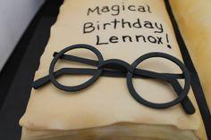 """Fondant """"Harry Potter"""" glasses"""