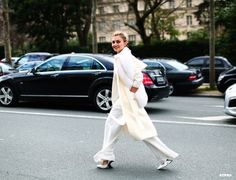 Nasiba Adilova at Paris Fashion Week F/W 2014-15