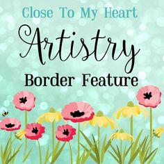 Cricut Artistry Border function!