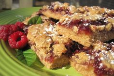 Oatmeal and Jam Bars. Photo by Lynn in MA