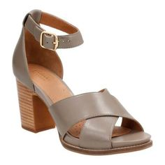 03334d2073cd Women s Clarks Briatta Tempo Ankle Strap Sandal Leather Buckle