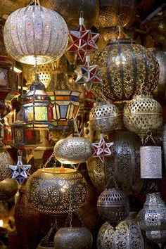 Photographic Print: Lanterns for Sale in the Souk, Marrakesh, Morocco, North Africa, Africa by Simon Montgomery : Morrocan Lamps, Moroccan Room, Moroccan Lanterns, Moroccan Decor, Moroccan Style, Moroccan Interiors, Turkish Decor, Turkish Lamps, Carpenter Bee Trap