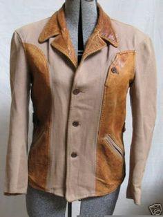 Vintage Leather Jacket, Sports Jacket, Tees, Shirts, Motorcycle Gear, Choppers, Biker, Jackets, Husband