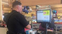 Rookie Officer Bennett Johns purchases diapers for woman accused of stealing them.