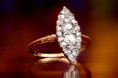 Bridgeport Ring, Circa 1900 from Estate Diamond Jewelry.