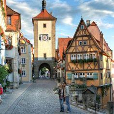 Här lever medeltiden kvar: Rothenburg ob der Tauber ©RTS/Pfitzinger
