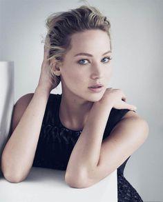 Jennifer Lawrence för Dior