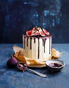 Unsere Herbsttorte wird mit ihren frischen Feigen, der Schokolade und dem Ahornsirup zu einem echten Geschmackserlebnis.