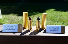 I adore these luxury, natural, vegan, and cruelty free lipsticks from Axiology Beauty!