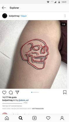 Follow us for the hottest new styles in Gothic Fashion - USE CODE - pinterest save 15% off 13 Tattoos, Skull Tattoos, Unique Tattoos, Cute Tattoos, Body Art Tattoos, Tatoos, Amsterdam Tattoo, Girl Face Tattoo, Tattoo Designs