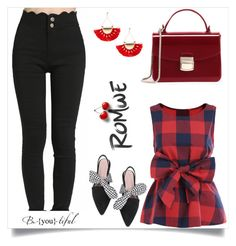"""Romwe 2/II"" by mirelaaljic ❤ liked on Polyvore"