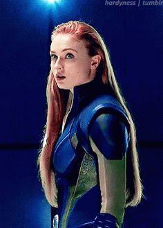 Jean Grey / Dark Phoenix / Sophie Turner (X-Men). X Men Marvel, Marvel Comics, Marvel Girls, Marvel Heroes, Marvel Characters, Female Avengers, Jean Grey Phoenix, Dark Phoenix, Sansa Stark