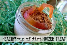 Mommy Testers Lifeway kefir for kids, Kefir frozen treat, Lifeway Frozen Probugs, healthy cup of dirt dessert, organic cup of dirt dessert,