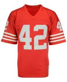 fc99f0658 Men s Ronnie Lott San Francisco 49ers Replica Throwback Jersey