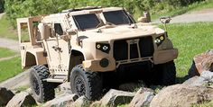 "Oshkosh Defense JLTV prototype.. I love hummers... But  they are so old you can buy them on the surplus market.. And we have been doing 1/2 assed ""up-armor"" on HMMVs long enough to make it worth it to start buying something better.... You can probably buy  4 less high end fighter jets & put tons of these in the field...."