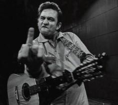 Johnny Cash    -     I think every one has these days now an then