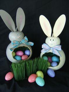 bunny basket ~ gourds