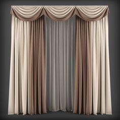 Curtains120 3D model
