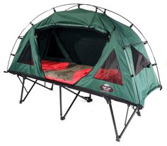 I want this.  What a great idea....a tent cot