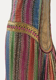 Dress ca. 1925 Paul Poiret (French, Paris 1879-1944 Paris) Medium: silk, leather (hva)