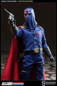 Sideshow Collectibles Cobra Commander Dictator Figure Available For Pre-Order