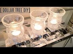 18 New ideas for bedroom lighting diy dollar stores candle holders – All For Decoration Dollar Tree Candle Holders, Candle Tray, Dollar Tree Mirrors, Dollar Tree Decor, Diy Mirror, Mirror Tray, Mirror Candle, Mirror Vanity, Dyi