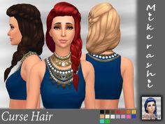 Curse Hair  [#ts4_adult_hair]  [#ts4_bacc_elf]