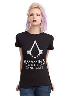 Assassin's Creed Syndicate Logo Girls T-Shirt, , hi-res