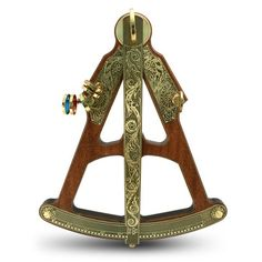 Hemisferium - Wood and Brass Sextant - Rendez vos souvenirs durables avec www.remix-numerisation.fr