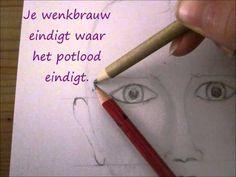 Tekenen als hobby [ Mensen ] :: Portret tekenen ::