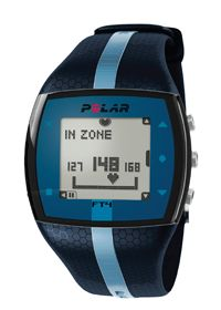 Polar FT4 Unisex Heart Rate Monitor Blue/Blue ( ) 1 Watch  Product Label FT4 Heart Rate Monitor The FT4 heart rate monitor helps you exercise smarter with its easy-to-use heart rate based features. Perfect for active exercisers who want to track their intensity and calories burned during any activity.   Read more: FT4 Unisex Heart Rate Monitor Blue/Blue by Polar - Buy FT4 Unisex Heart Rate Monitor Blue/Blue