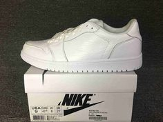 0ea96f96b647 Air Jordan 1 Low NS Triple White Women Shoes White