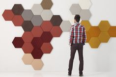 TEA wall panelling by SANCAL.