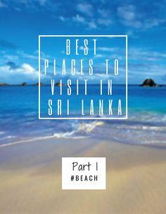 Best places to visit in Sri Lanka,Beaches,Tangalle,Hikkaduwa,Negombo