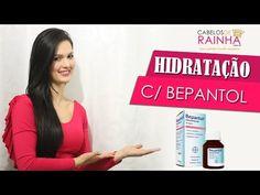 ♡ Hidratação nos Cabelos com Bepantol Líquido - Passo a Passo - YouTube