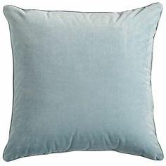 Plush Pillow - Smoke Blue