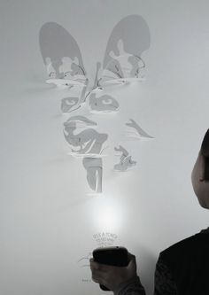Night Tour Shadows | Creative Paper Poster Design | Award-winning Graphic Design | D&AD