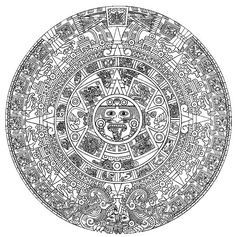 Aztec Gods Goddesses Coloring pages Colouring Pages